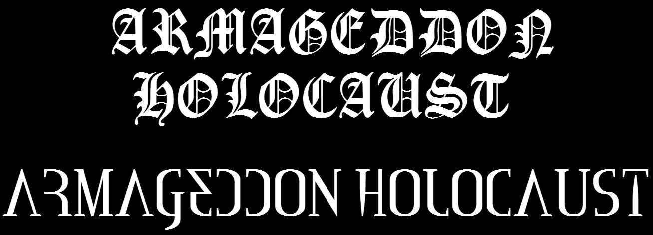Armageddon Holocaust - Logo