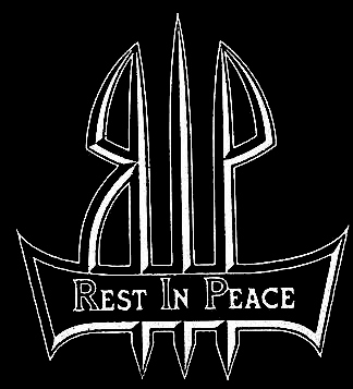 Rest in Peace - Logo