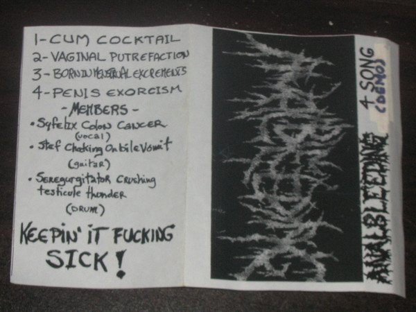 Anal Bleeding - 4 Song Demo