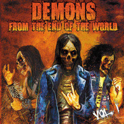 Krudo / Metal Command / Profanator - Demons from the End of the World, Vol. 1