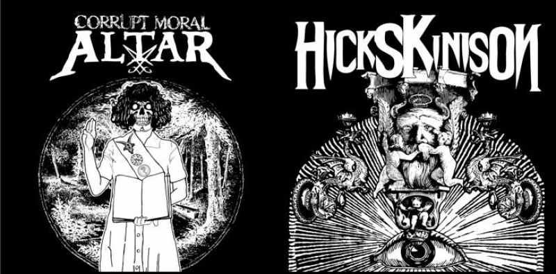 Corrupt Moral Altar / Hicks Kinison - Hicks Kinison / Corrupt Moral Altar