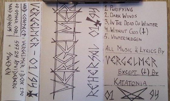 Vergelmer - Rehearsal 01/94