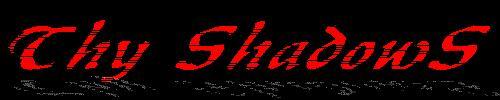 Thy Shadows - Logo