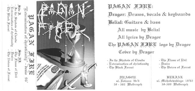 Pagan Fire - Extermination of Christianity