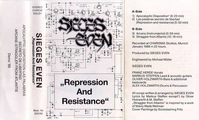 Sieges Even - Repression and Resistance