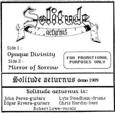 Solitude Aeturnus - Demo 1989