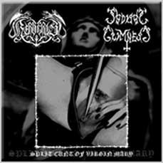 Kerberos / Sadistic Grimness - Split Cunt of Virgin Mary