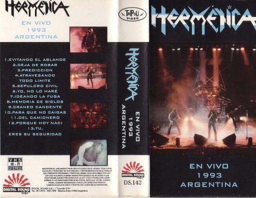Hermética - En vivo 1993 Argentina