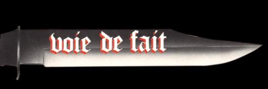 Voie de Fait - Logo