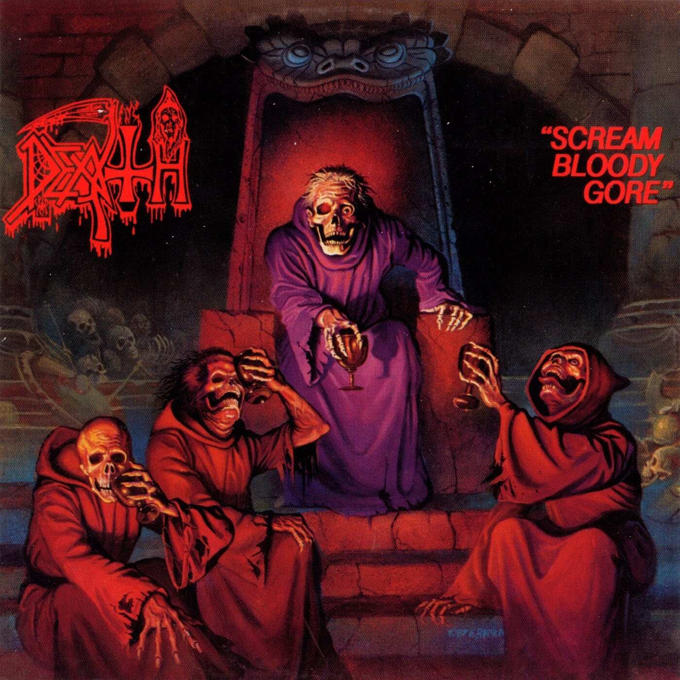 Scream Bloody Gore cover (Click to see larger picture)