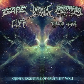 Corprophemia / Cuff / Gape / Urethral Injection / Infected Cadaver - Quinte Essentials of Brutality Vol.1