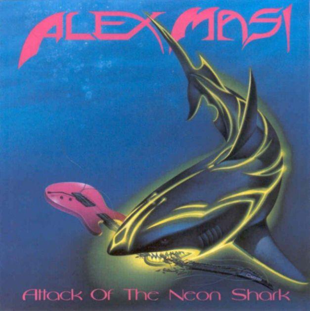 Alex Masi - Attack of the Neon Shark