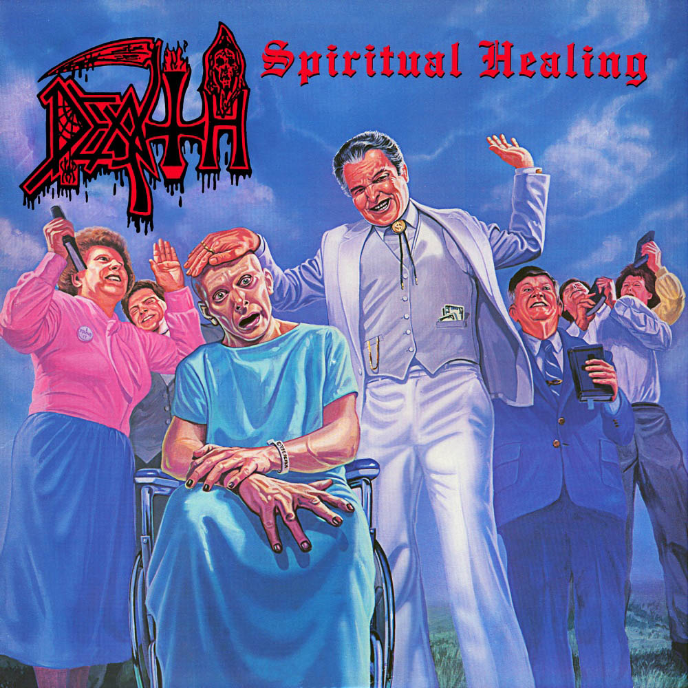 Spiritual Healing cover (Click to see larger picture)