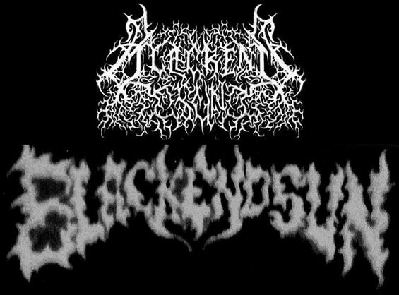 Blackend Sun - Logo