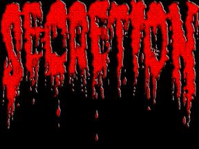 Secretion - Logo