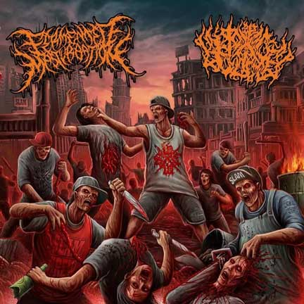 Fermented Masturbation / Pit of Toxic Slime - Misanthropic Urban Disease