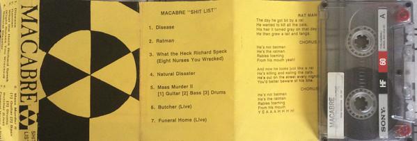 Macabre - Shit List