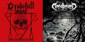 Gravehill / Mordbrand - Skullbearer / In Nighted Waters