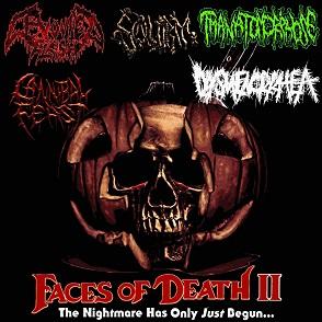 Cannibal Feast / Thanatomorphose / Squirm / Devoured Flesh - Faces of Death II