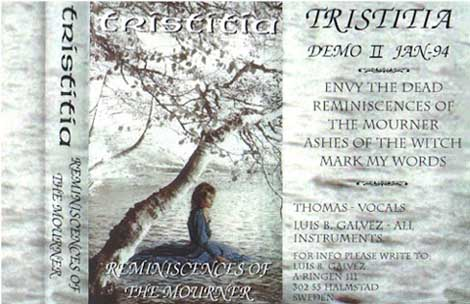Tristitia - Reminiscences of the Mourner