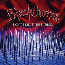 Blackthorne - Don't Kill the Thrill