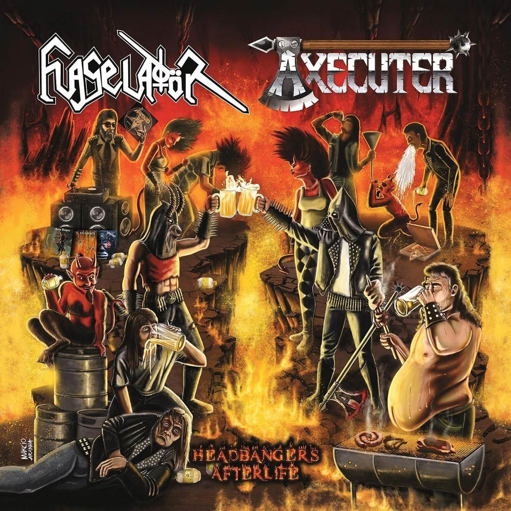 Flageladör / Axecuter - Headbangers After Life