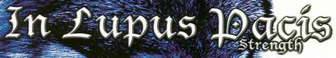 In Lupus Pacis - Logo