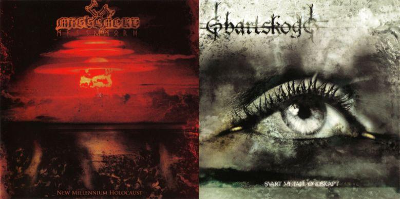 Massemord / Svartskogg - New Millennium Holocaust / Svart Metall Ondskapt