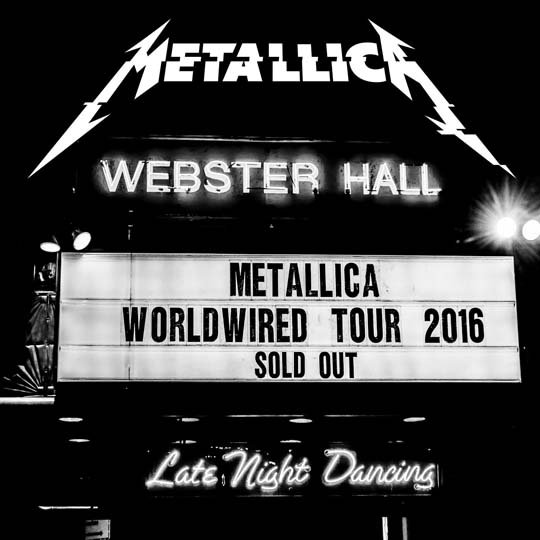 Metallica - Live Metallica: Webster Hall in New York, NY