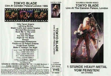 Tokyo Blade - Live at Camden Palace, London