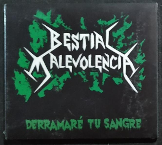 Bestial Malevolencia - Derramaré tu sangre