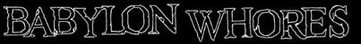 Babylon Whores - Logo