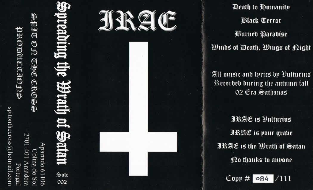 Irae - Spreading the Wrath of Satan