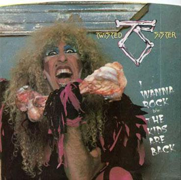 Twisted Sister - I Wanna Rock b/w / The Kids Are Back