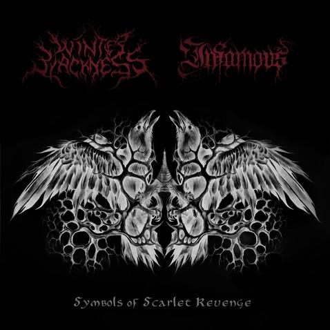 Infamous / Winter Blackness - Symbols of Scarlet Revenge