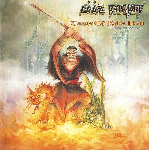 Lȧȧz Rockit - Taste of Rebellion - Live in Citta