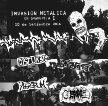 Pheretrum / Karnage / Deforme - Invasión metalica en Shangrila I