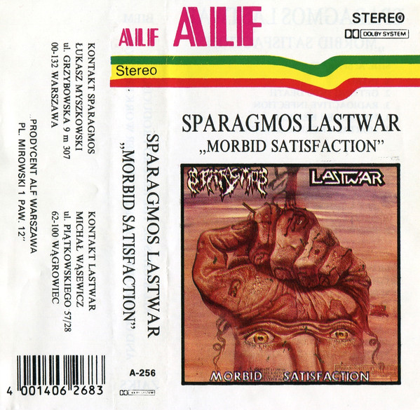 Sparagmos / Lastwar - Morbid Satisfaction