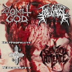 Fetus Heist / Vomit God - Vomit God / Fetus Heist / Inappropriate Necessity / Gonzo Violence