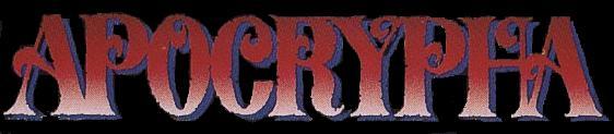 Apocrypha - Logo