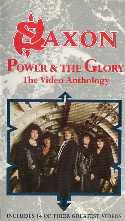 Saxon - Power & the Glory - The Video Anthology