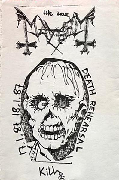 Mayhem - Deathrehearsal