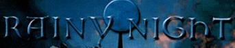 Rainy Night - Logo
