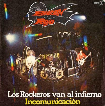 Barón Rojo - Los rockeros van al infierno - Incomunicación