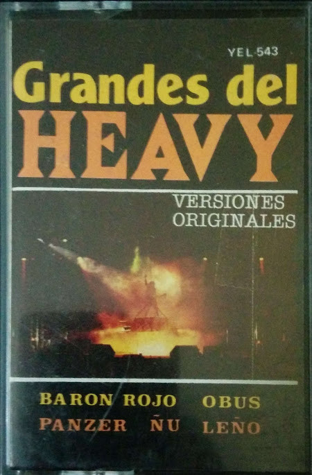 Barón Rojo / Panzer / Obús / Ñu - Grandes del Heavy (II)