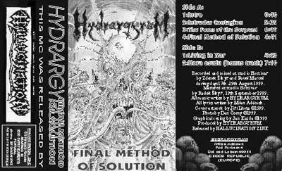 Hydrarrgyrum - Final Method of Solution