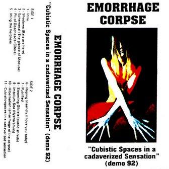 Emorrhage Corpse - Cubistic Spaces In A Cadaverized Sensation