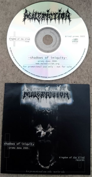 Malediction - Shadows of Iniquity