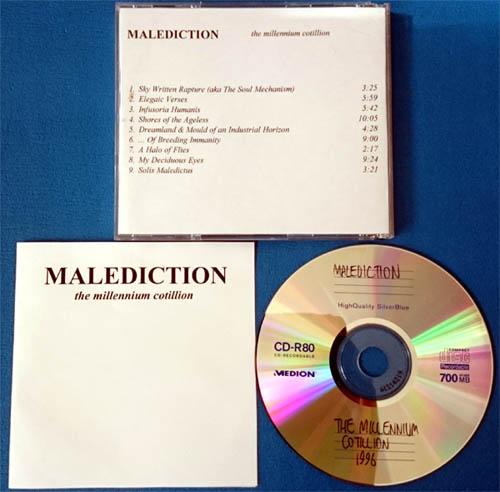 Malediction - The Millennium Cotillion (unreleased CD)