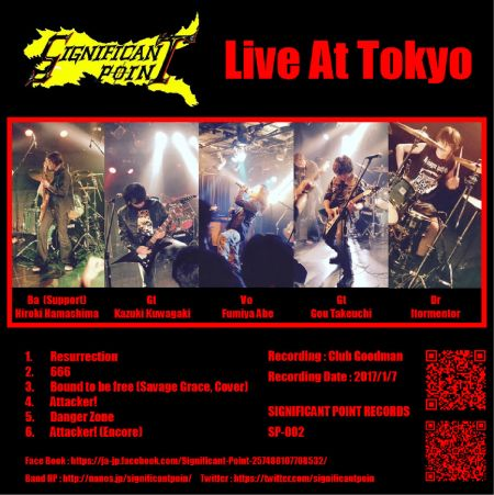 Significant Point - Live at Tokyo